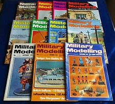 """MULTI-LIST SELECTION OF """"MILITARY MODELLING MAGAZINE""""  FROM YEAR 1973"""