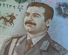 SADDAM HUSSEIN on MONEY 1986 IRAQ 25 DINAR BANKNOTE Authentic Uncirculated