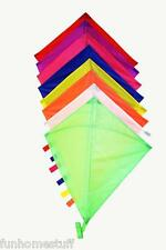"29"" 29 INCH DIAMOND NYLON KITE GREAT FOR KIDS EASY TO FLY FREE LINE & WINDER"