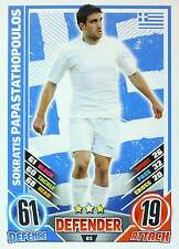 MATCH ATTAX EURO STARS 2012 IRELAND Edition - GREECE selection - TOP MINT