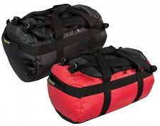 90 litre LARGE WATERPROOF DRY holdall duffle BAG for boat lomond in red black