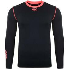 Canterbury Cold L/s Adults Black/fluro Pink Baselayer Top