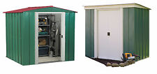 Arrow Metal Double Door Garden Shed - Choice of Size and Shape (Apex/Pent)