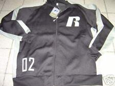 BIG MENS RUSSELL ATHLETICS BLACK ZIP SWEATSHIRT/JACKET SIZE 2X