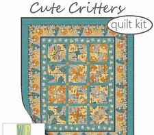 Cute Critters Quilt Kit by Wilmington Prints