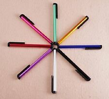 8x Colorful Capacitive Pen Screen Touch Stylus for Cell Phones 2016 new