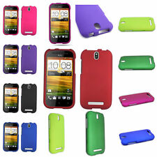 Premium Colorful Hard Rubber Cover Case For HTC One SV LTE