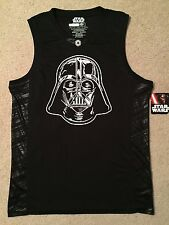 DARTH VADER helmet DEATH Star Wars Movie MEN'S Tank Top SLEEVELESS Jersey Shirt