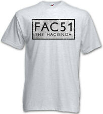 FAC 51 THE HACIENDA II T-Shirt - Fac51 Club Factory Records New Order T-Shirt