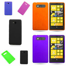 For Nokia Lumia 820 Silicone Case - Flexible Slim Lightweight Rubber Phone Cover