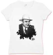 HATE Capone HC hate COUTURE GIRLIE T SHIRT - Al Capone Mafia Mob Gangster Pate