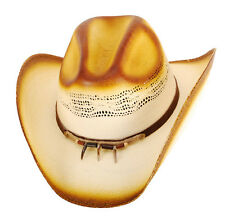 NEW! Western Straw Cowboy Hat Claw Band Elastic (S/M, L/XL, Kids)