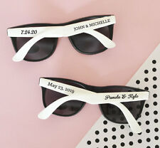 Personalized Sunglasses - Beach Themed Summer Destination Wedding Party Favor
