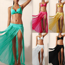 Chiffon Pleated Girls Long Skirt Maxi Dress Elastic Waist Skirt Hot