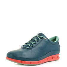Womens Ecco Cool Exhale GTX Lace Sea Port Granite Green Trainers UK Size