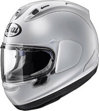 Arai Corsair-X White Full Face Helmet Snell Rated Free Size Exchanges