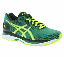 NEW asics Gel-Nimbus 18 Shoes Men's Running Shoes Trainers Green T600N 8807 WOW