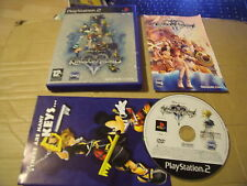 KINGDOM HEARTS II 2 SONY PLAYSTATION 2, PS2 GAME GOOD CON