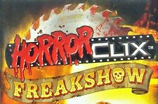 HorrorClix Freakshow Miniatures Figurines Strategy Game Wizkids
