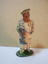 Barclay Chef Lead Toy Soldier Figure in White Coat  T*