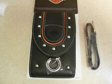 Choose A Style  Harley-Davidson Camera Cell Phone PDA GPS Leather Case