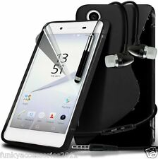 S-Line Wave Gel Case?In Ear Stereo Headset for Sony Xperia Z5 Premium