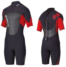 Jobe Progress SH Remix Shorty 2.5/2 Men's Red Neoprene Suit Wetsuit Kite Surfing