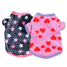 Chic New Pets Dogs Puppy Cats Pullover T-Shirt Cute Heart Stars XS/S/M/L Costume