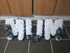 MUM Funeral Flowers Grave Cemetary Floral Tribute Based Oasis Artificial