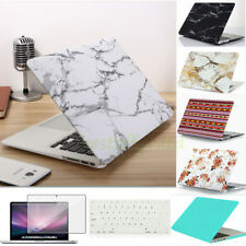 Marble Matt Hard Case + Keyboard Cover Skin for Macbook Air/Pro/Retina 11 13 15""