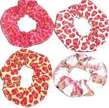 I Love Lucy Hair Scrunchie Fabric Scrunchies by Sherry Ponytail Holders Ties New