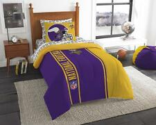 NFL Twin Comforter 4pc Set - Soft and Cozy