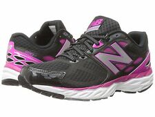 NEW BALANCE W680V3 BLACK AZALEA WOMENS RUNNING SHOES **FREE POST AUSTRALIA