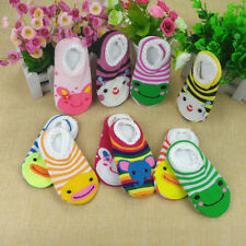 1 Pair Baby Anti Slip Socks Slipper 6-24 Months Neonatal Summer Infant Socks New