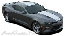 OVERDRIVE 2016 SS RS Camaro Rally Racing Stripes 3M Pro Vinyl Graphic Hood Decal