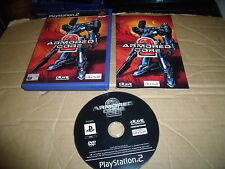 ARMORED CORE 2 SONY PLAYSTATION PS2, PS3 GAME GOOD CON