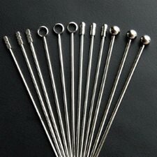5 X Stainless Steel Cocktail Martini Picks Stick Food Fruit Drink Bar Party 11cm