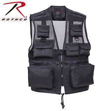 Tactical Recon Vest Lightweight Water Resistant Nylon 9 Pocket Gear Vest 6484