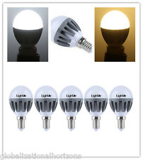 E14 220-240V 3W LED Dimmable Bulb Spot Globe Lamp Energy Efficient Lighting Home