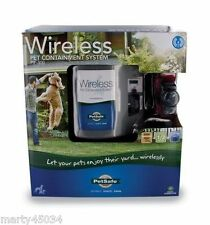 PetSafe PIF-300 Wireless Dog Fence 2-4 DOG, PIF-275-19 Collar + 8 RFA67D Battery