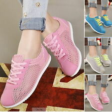 Women's Sport loafer Canvas Comfort Flats Breathable Sneakers Casual Shoes XS1
