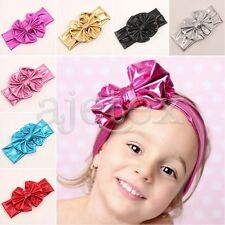 Kids Girl Baby Headband Toddler Lace Bow Flower Hair Band Bowknot Accessories