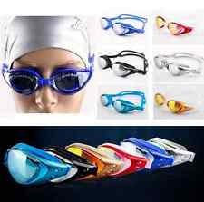 Non-Fogging Anti Adult UV Swim Swimming Goggle Glasses Adjustable Eye Protect