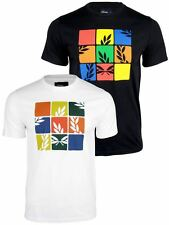 Mens Fred Perry Laurel Puzzle Print T-Shirt Short Sleeved