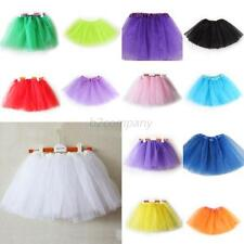 Toddler Girl Ballet Dance Tutu Costumes Party Princess Skirt 3 Layer Dress D74