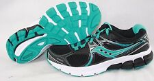 NEW Womens SAUCONY Grid Mystic S15248-10 Black Aqua Blue Sneakers Shoes