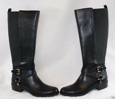 """NEW Womens TOMMY HILFIGER Sienna 2 1"""" Heel Black Zip Up Fashion Boots Shoes"""
