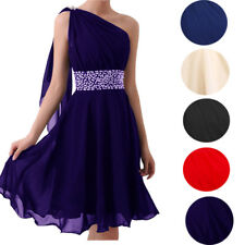 New Short Formal Wedding Party Prom Bridesmaid Evening Cocktail Ball Dress 4-22
