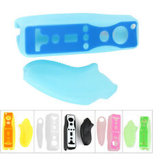 Soft Silicon Cover Case Skin Pouch for Nintendo Wii Remote Nunchuk Controller