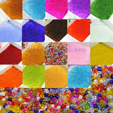 1500Pcs/15g Czech Glass Seed Spacer Beads Jewelry Making DIY Pick 2mm